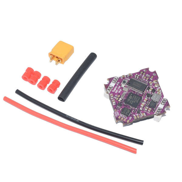 QWinOut Supra-F4-12A V1.0 F411 F4 Flight Controller AIO OSD BEC & 12A BL_S 2-4S 4In1 ESC for RC Drone FPV Racing Quadcopter UFO-85X