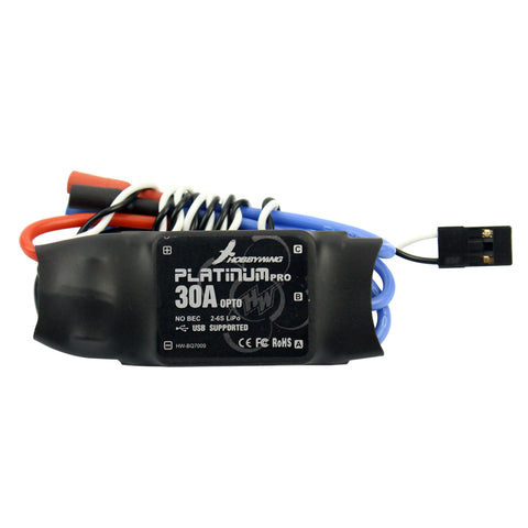 HOBBYWING Platinum-30A-Pro 2-6S 30A Speed Controller ESC OPTO For Hex Multi Rotor Hexacopter