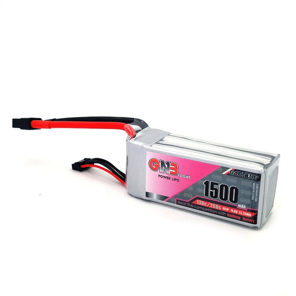 Gaoneng GNB 1500MAH 4S 130C 14.8V Lipo Battery XT60 Plug for RC FPV Racing Drone CineWhoop BetaFPV