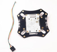 QWinOut Integrated APM Flight Control Upper Board Highlight LED GPS Light Unlock Light for F450 Quadcopter Drone