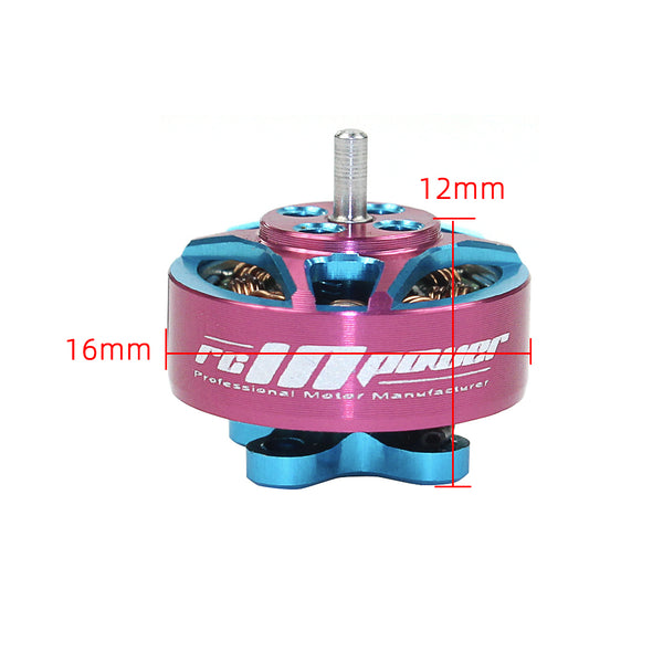 RCinpower 1204 5000KV 3-4S Brushless Motor with Gemfan Hurricane 3018 Propellers for Toothpick FPV Racing Drone Quadcopter