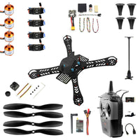 JMT J-357 3S FPV Mini Racing Drone RTF 310mm /360mm / 380mm w MINI PIX GPS 30A 1400KV Brushless 1200TVL Camera RC Quadcopter DIY Unassembly Kit