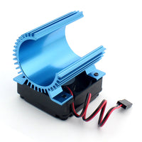 Hobbywing EZRUN Motor Combo C1 Motor Heat Sink + 5V Fan Hobbywing 2S for 3660 3665 3674 1/8 RC Car Brushless Motor