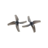 LDARC 51mm Propeller 4-blade Racer 2 Inch Prop 1.5mm Hole M2 Screw Fixing Paddle for FPV Racing Drone Quadcopter