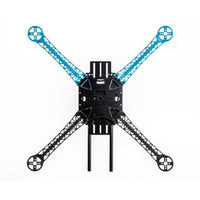 QWinOut S500 PCB DIY Kit 2.4Ghz 4CH RC Drone 500mm Quadcopter APM2.8 Flight Control No Compass with M7N GPS T8FB Transmitter Receiver Motor ESC