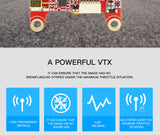 HGLRC Forward VTX 5.8G 48CH 25/50/100/200/400mW FPV Transmitter For RC Racing Drone Quadcopter