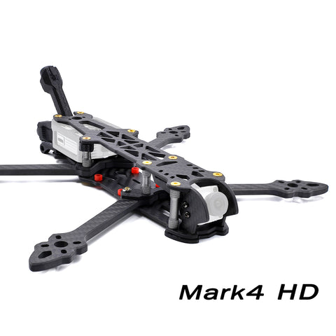 GEPRC Mark4 HD5 Freestyle Quadcopter Frame Kit 5 inch 224mm Rack for DJI Digital FPV System FPV Air Unit w/ Antenna Holder