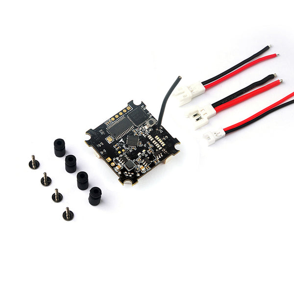 QWinOut Beecore VTX Brushed Flight Controller for Tiny Whoop Built-in Betaflight OSD and 25mw VTX with Smartaudio