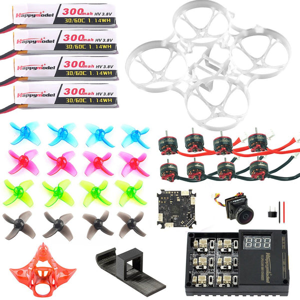 QWinOut Q75 Full Set DIY Mobula 7 V3 75mm FPV Drone Accessories Crazybee F4 PRO FC V3 Frame VTX SE0802 Motor Turbo Eos2 Camera for Mobula7