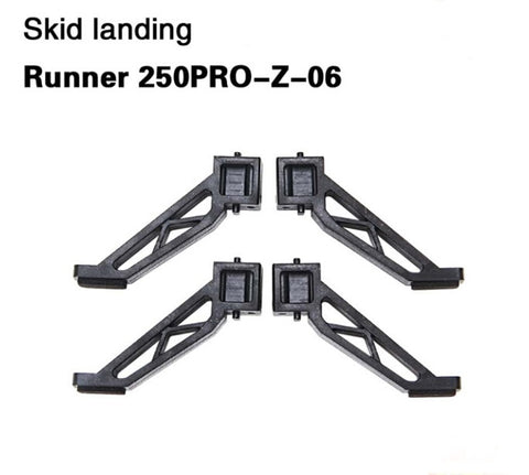 4 pcs/Lot Walkera Skid Landing Gear Runner 250PRO-Z-06 for Walkera Runner 250 PRO GPS Racer Drone RC Quadcopter