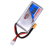 Gaoneng GNB 850mAh 2S 7.4V Lipo Battery JST Plug or XT30 Plug for FPV Racing Drone RC Quadcopter Drone Helicopter Toy parts