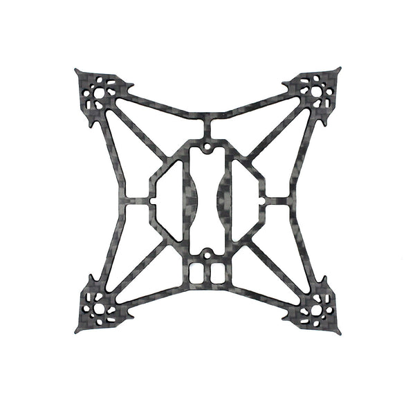 Happymodel Larva X Frame Kit 100mm Wheelbase 2-3S 2.5inch Brushless FPV Racing Drone 3mm Carbon Fiber Rack