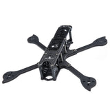 iFlight Cidora SL5 FPV Freestyle Frame Kit 215mm 5 Inch Squish X Carbon Fiber Airframe Rack With 5mm Arm Compatible Xing X2207 Motor/5inch Prop for DIY FPV Racing Drone Quadcopter