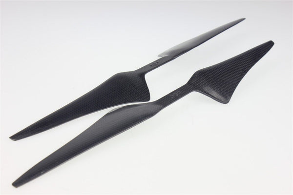 JMT 4Pairs 17x5.5 3K Carbon Fiber Propeller CW CCW 1755 CF Props  For Hexacopter Octocopter Multi Rotor UFO