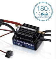 Hobbywing SeaKing V3 Waterproof 120A /180A 2-6S Lipo Speed Controller 6V/5A BEC Brushless ESC for RC Racing Boat