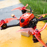 Emax Babyhawk R Pro 4 inch Race Pro 160mm FPV Racing Drone BNF with Mini Magnum III BLHeli32 3-6s RS1606 3300kv BNF Frsky D8 Receiver