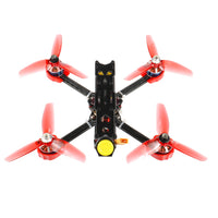 JMT F4 X1 175mm FPV Racing Drone 2-4S Quadcopter RTF with GHF411AIO Flight Controller Supra-VTX FS I6 Transmitter 750mAh 3S Battery