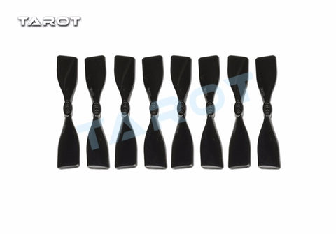 "4pairs Tarot 3 Inch Square Propellers CW CCW 3"" Black Props for 1104 1106 Brushless Motor 130 150 FPV Drone TL150S2"