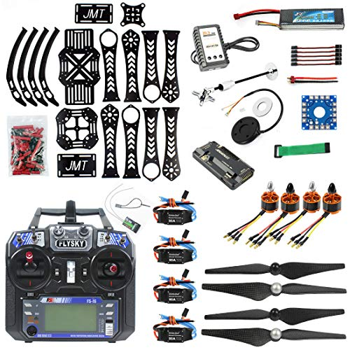 QWinOut DIY RC Drone Quadrocopter X4M360L Frame Kit:GPS + APM 2.8 Flight Control + Brushless Motor + Brushless ESC + Lipo Battery