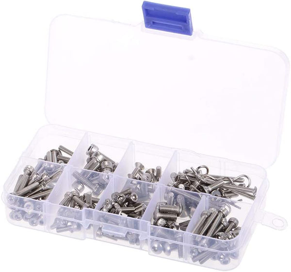 Stainless Steel Screw Kit RC Screws sets for Traxxas Slash 4x4 Short Truck Off-road RC Car DIY Car Parts Kit Tools