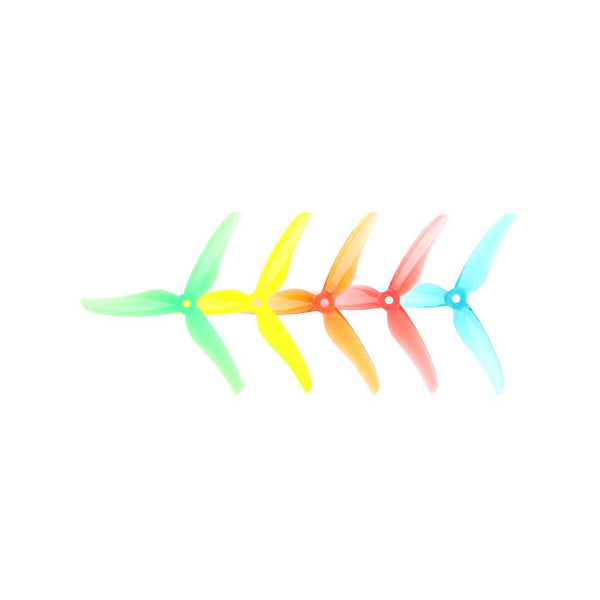 T-MOTOR 2 Pair T5146 5 Inch 3-Blade Propeller Tri-Blade FPV Professional Propeller CW CCW Propeller for FPV DIY RC Drone Quadcopter Frame Kit