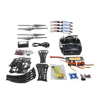 Qwinout DIY RC Drone Quadrocopter RTF X4M360L Frame Kit:QQ Super Flight Control + Brushless Motor + Brushless ESC + Battery + Radiolink AT9