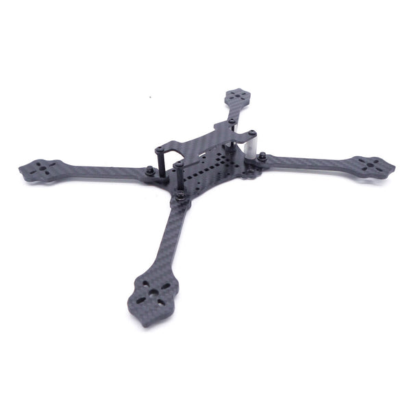 QWinOut 5inch 233mm 6inch 260mm 7inch 285mm HX Frame 3D Printing Canopy Quadcopter Frame Kit Carbon Fiber Rack for DIY FPV Racing Drone
