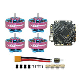 FullSpeed NameLessRC AIO412T F4 AIO F411 Flight Controller+12A ESC with RCinpower 1204 5000KV 3-4S Brushless Motor DIY RC Quadcopter FPV Racing Drone Accessories Kit