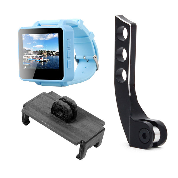 QWinOut FPV200 5.8GHz 48CH OSD Raceband DVR FPV Watch 2inch LCD 960*240 Display FPV Receiver with Bracket PLA 3D Print Holder Balancer Adjuster for DIY FPV Racing Drone