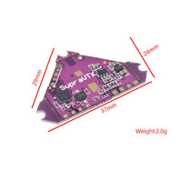 QwinOut Supra-VTX 5.8G 40CH 25mW 100mW 200mW Switchable FPV Transmitter VTX for Supra 7 Pro FPV Racing Drone Quadcopter