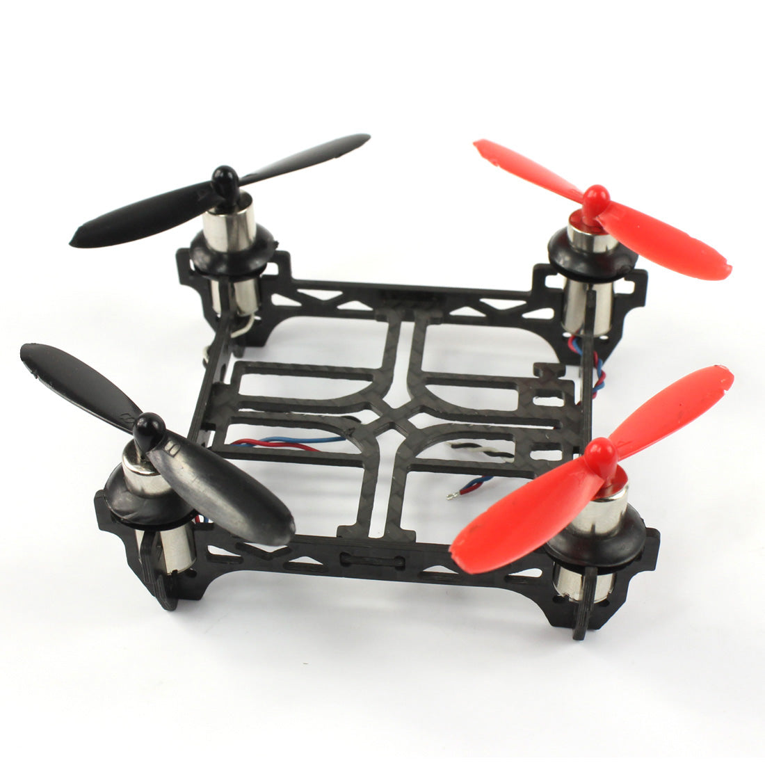 QWinOut Tiny QX80 Carbon Fiber Indoor FPV Racing QuardCopter Frame with 1S 3.7V 8520 8.5x20mm Mini Brush Motors Props DIY Drone