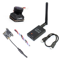 QWinOut 3in1 FPV Kit Turbo EOS2 FPV Camera FE200T 5.8G 40CH VTX UVC Receiver For Android Smartphone FPV Quadcopter Drone