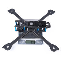 iFlight XL6 V4 Long Range FPV Freestyle Frame 3K Carbon Fiber Airframe 255mm Wheelbase for DIY RC Quadcopter FPV Racing Drone