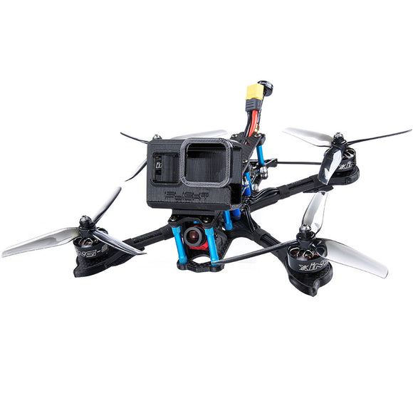 iFlight Cidora SL5-E 215mm 5inch 4S 6S FPV Racing Drone PNP BNF with Caddx Ratel Camera/Nazgul 5140 Prop/XING-E 2207 2450KV/1800KV Motor