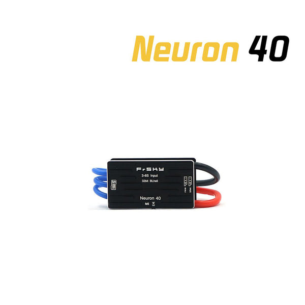 FrSky 40A 60A 80A ESC Neuron 40 60 80 Support S.Port & Telemetry Data Transmission for RC Hobby FPV Drone Aircraft