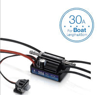 Hobbywing SeaKing V3 Waterproof 30A 2-3S Lipo 6V/1A BEC Brushless ESC for RC Racing Boat