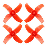 Happymodel 40mm 4-Blade Propeller PC Props 1.0mm Hole CW CCW for Mobula7 Mobula 7 FPV Racing Drone Quadcopter 10 Pairs