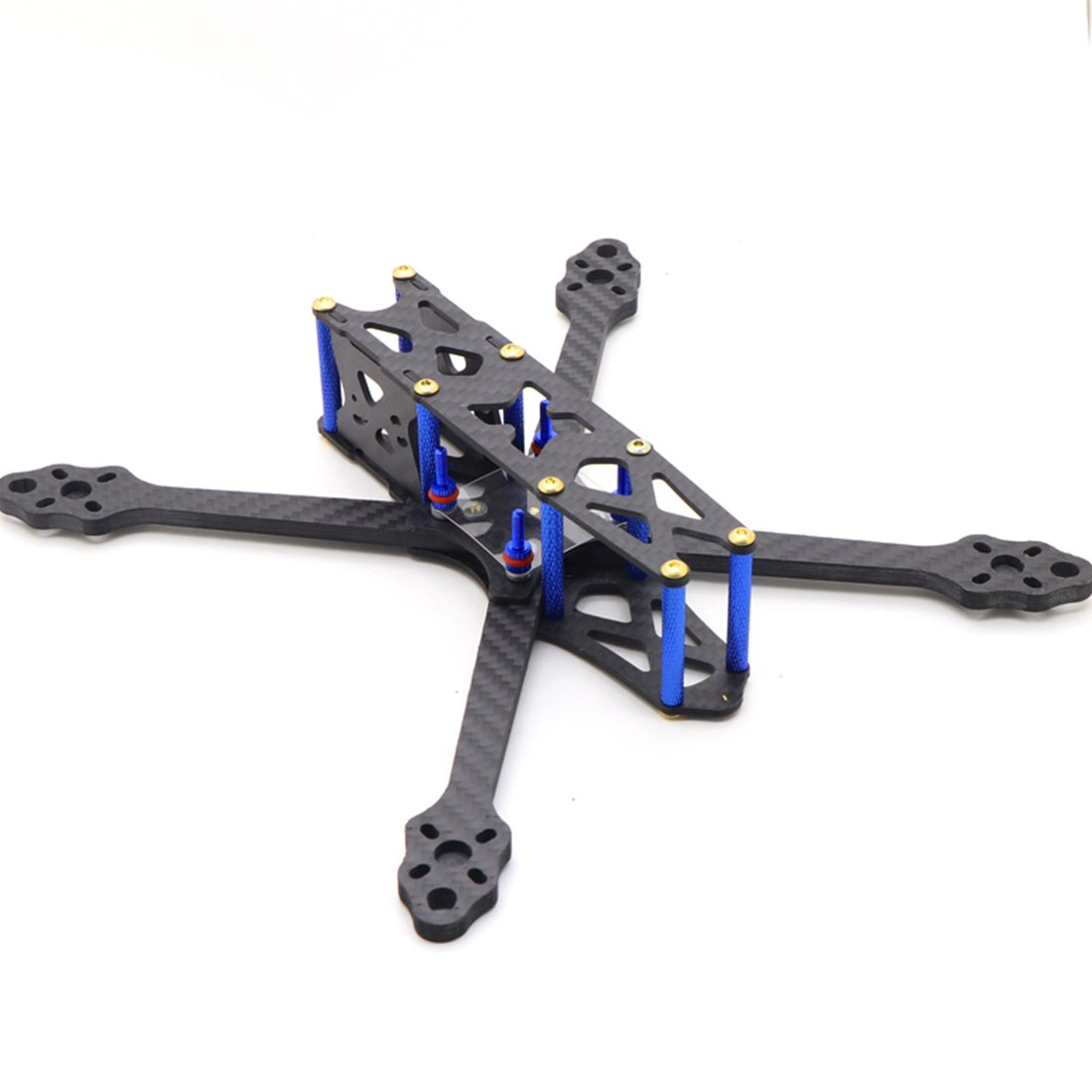 QWinOut 225mm Four-axis Carbon Fiber Frame X Type Airframe for DIY FPV Racing Done Quadcopter Kit
