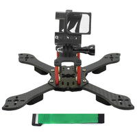 QWinOut Three1 210mm FPV Racing Drone Quadcopter Frame Kit with TPU Camera Mount Angle Adjustable for GOPRO 5/6/7 Action Camera