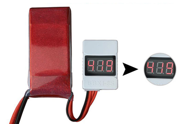 Tarot New BB Ring / Battery Indicator / BBX1-8S TL2693-02 Lithium Battery tester 1S-8S For RC Drone Aircraft Helicopter