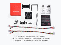 Foxeer Predator V3 Racing All Weather Camera 16:9/4:3 PAL/NTSC switchable Super WDR OSD 4ms Latency Remote Control for FPV Racing Drone Quadcopter Multi-rotor Aircraft