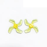 Gemfan 1636 1.6x3.6x4 40mm 1.5mm Hole 4-blade Propeller PC CW CCW Props for 1103 1105 RC Drone Quadcopter FPV Racing Brushless Motor