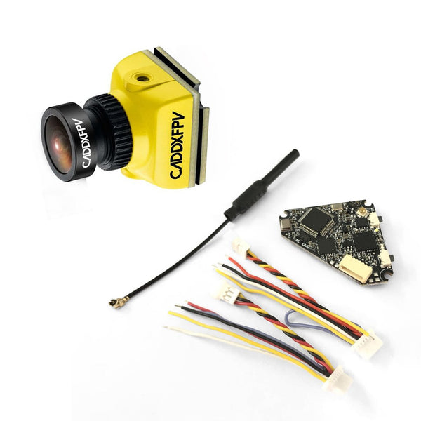 Caddx.us Baby Ratel Mini FPV Camera 1200TVL with NameLessRC D400 VTX+DVR AIO 48CH Raceband for FPV Racing Drone RC Quadcopter