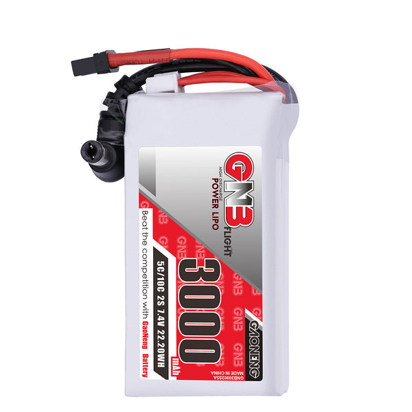 Gaoneng GNB 3000MAH 2S 7.4V 5C Goggles Lipo Battery Power Indicator for Fatshark Dominator Skyzone Aomway FPV Goggles RC Drone