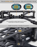 GEPRC MARK4 225mm 5 Inch / 260mm 6 Inch / 295mm 7 Inch Frame Kit Lightweight Freestyle FPV Frame for DIY RC Drone FPV Racing Quadcopter