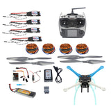 QWinOut S500 PCB DIY Drone Multicopter 500mm Multi-Rotor QQ Super Flight Controller with 700KV Motor 30A ESC 6CH 9CH Transmitter