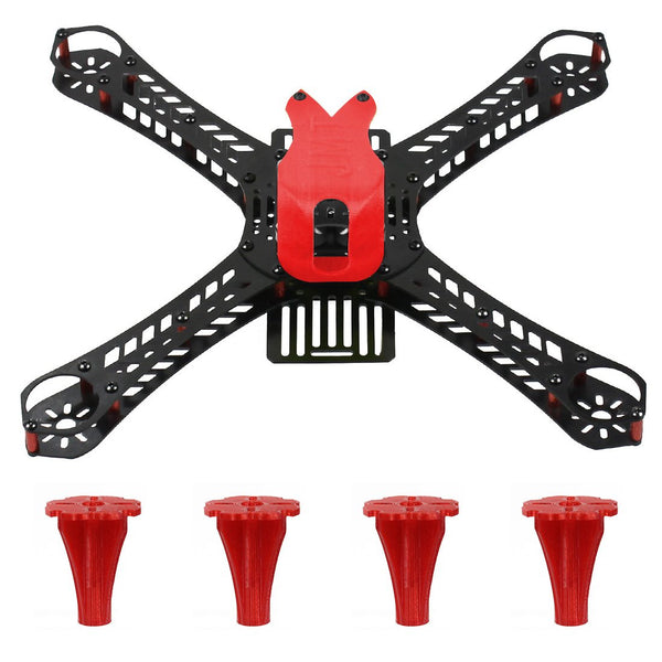 JMT J-357 Mini Racing Drone Frame Kit 310/360/380mm Rack 3D Print 19mm FPV Camera Canopy Cover & Tripod Landing for DIY RC Quadcopter