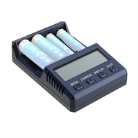 SKYRC NC1500 5V 2.1A 4 Slots LCD AA/AAA Battery Charger & Analyzer NiMH Batteries Charger Discharge & Refresh