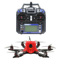 "FEICHAO 175mm X6 Mini Airframe FPV Carbon Fiber Frame Kit Six-Axis with Omni F4 Pro(V2) Flight Controller Built in OSD BEC MT1204-5000kv Motors 20A Brushless ESC 3016 3-Blade Propellers  1/1.8""  1200TVL 2.1mm+ND filter FPV Camera with Flysky TX&RX"