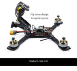 GEPRC GEP-Mark3 Mark3 H5 225mm Freestyle FPV Racing Drone PNP BNF with SPAN F4 Flight Controller 40A/50A ESC 48CH 5.8G VTX+Caddx Ratel 2.1mm FPV Camera